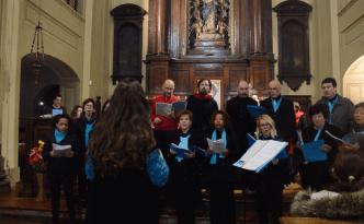 Il Coro di Viarolo in Santa Caterina per la Comunità di Sant'Egidio (18 marzo 2018)