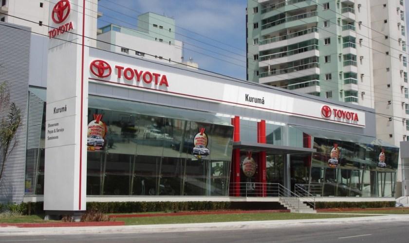 Concessionária Toyota região Centro Oeste