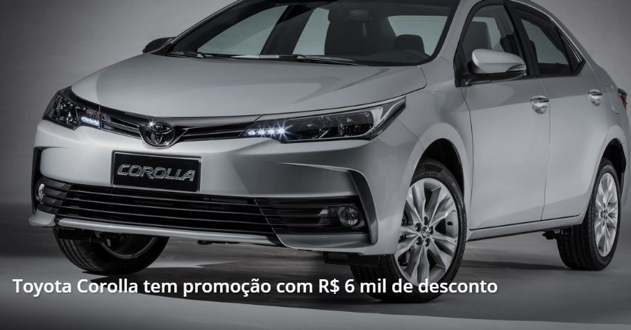 Toyota Corolla com Desconto