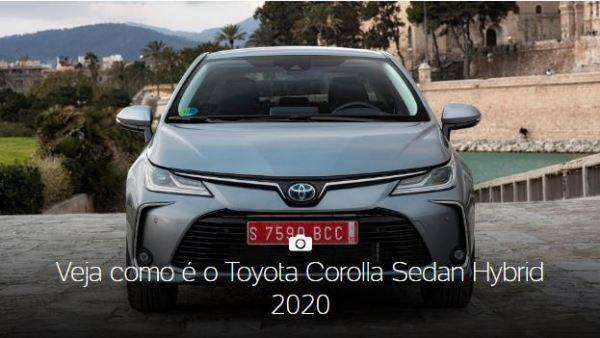 Toyota Corolla Sedan Europeu