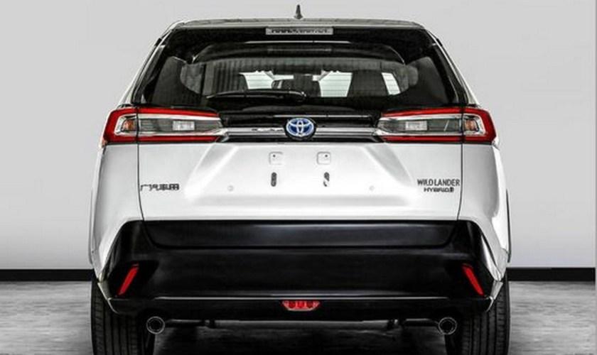 Novo Toyota Wildlander 2020 Modelo baseado no RAV4