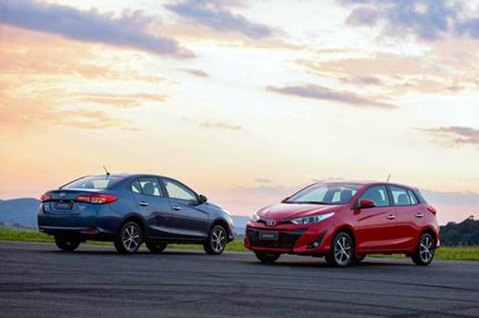 Toyota Yaris: Modelo Fará parte da Frota da Movida