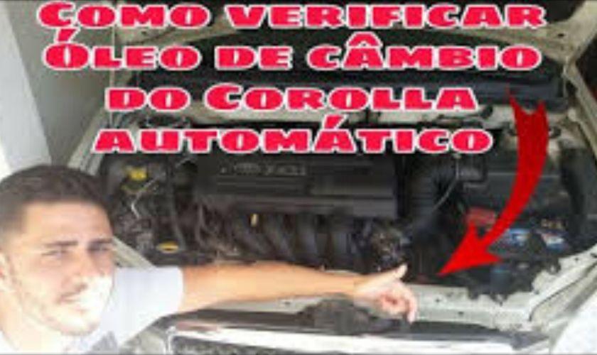 Como Verificar o Nível de Óleo do Cambio Automático do Corolla de 2003 a 2008
