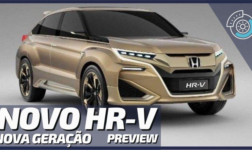 Nova Geração do Honda HR-V 2021 Chega ao Brasil em 2022