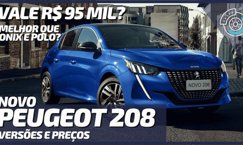 Lançamento do Novo Peugeot 208 2021 no Brasil
