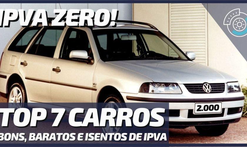 7 Melhores Carros Usados para Comprar com Isenção de IPVA 2020