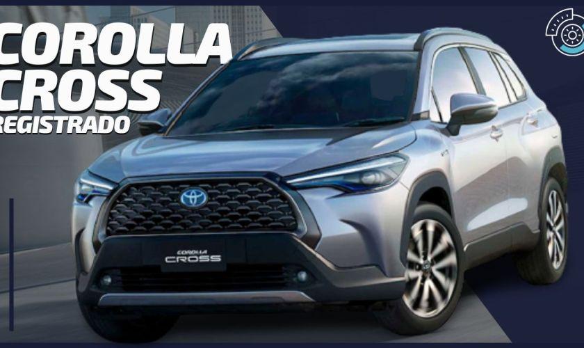 LANÇAMENTO 2021: Novo Toyota Corolla Cross SUV Registrado no Brasil