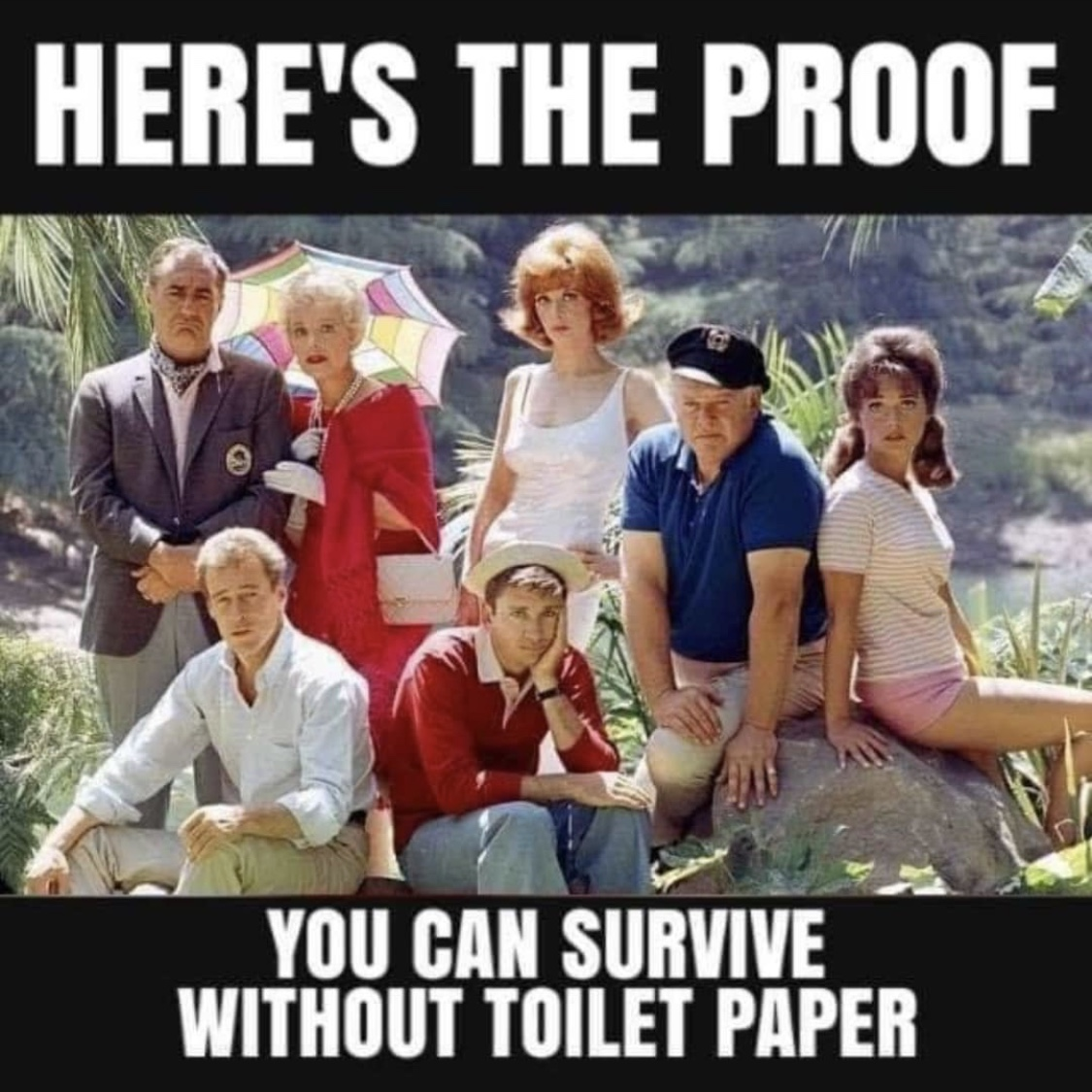 Heres the proof you can survive without toilet paper