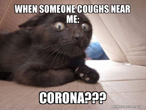 When somone coughs near me – Corona