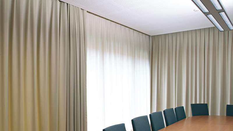 motorised curtain supply installation