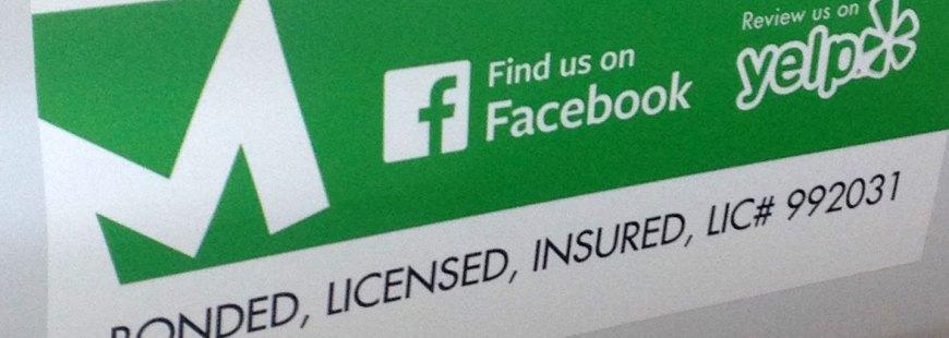 bonded licensed insured screen repair