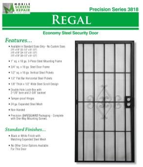 Economy Steel Security Door 4