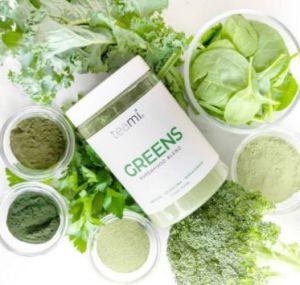 KLEIN - Teami - Greens Superfood Belnd - Sfeerfoto - CorpoCare