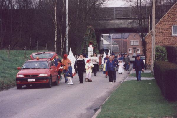 2000. Cortège du Grand Feu.