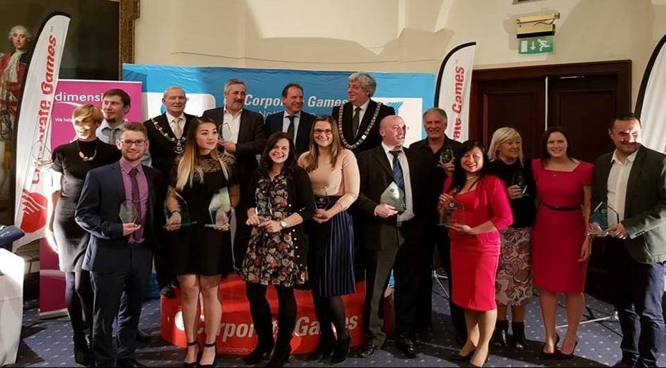 "<span class=""cgbtu"">UK Corporate Games</span> Nottingham Closing Awards Celebrated"