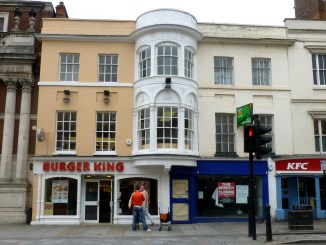 A closed shop on the high street is indicative of Amazon UK's impact on brick-and-mortar retailers.