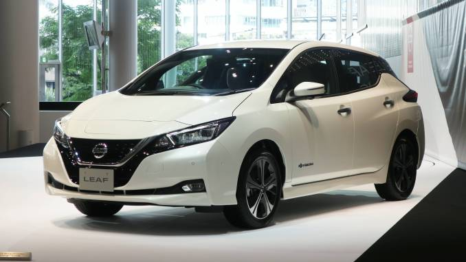 The new Nissan Leaf is under production in Sunderland UK as of December 2017.