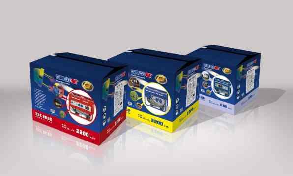 Endress Powergenerators – Verpackungen