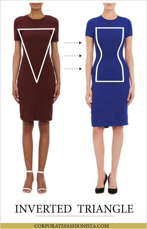 Discover How To Dress Your Body Type (Once & For All!) - Body Type: Inverted Triangle | CorporateFashionista.com