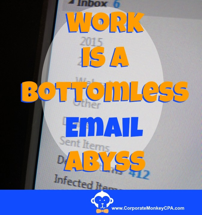 Too Many Emails: Work Is A Bottomless Email Abyss.