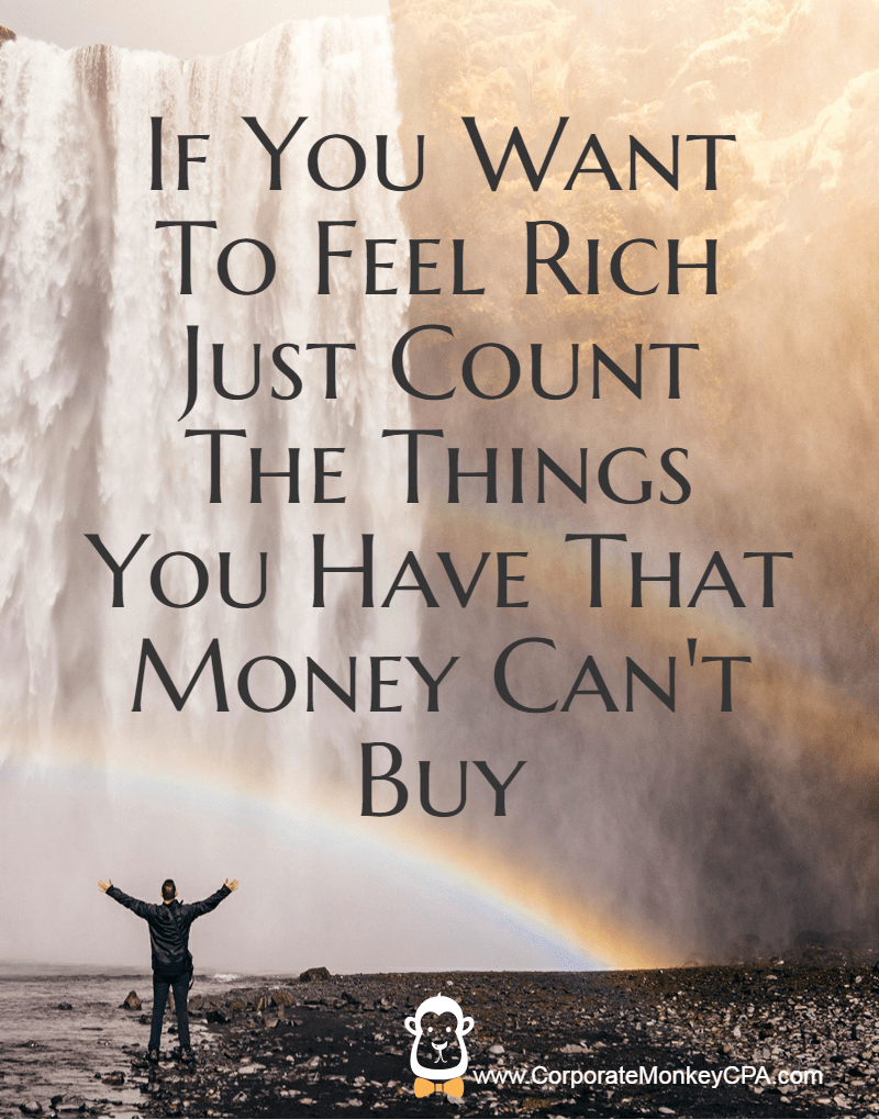 Cant Buy Source   Money Quote Happiness If you Want to feel rich just  count the things you have. Money Can T Buy Happiness Quotes   Page 6   The Best Quotes   Reviews