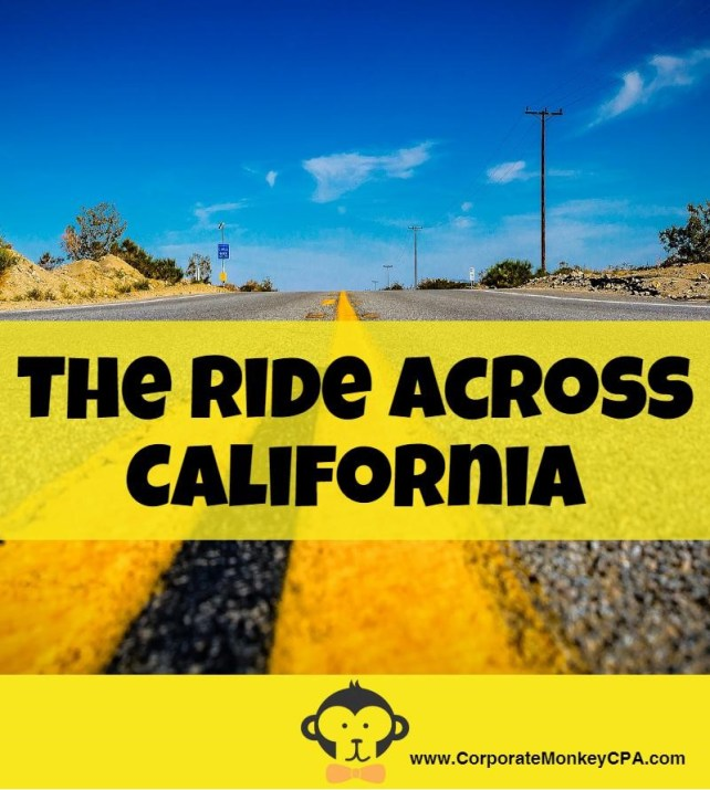 Ride Across California