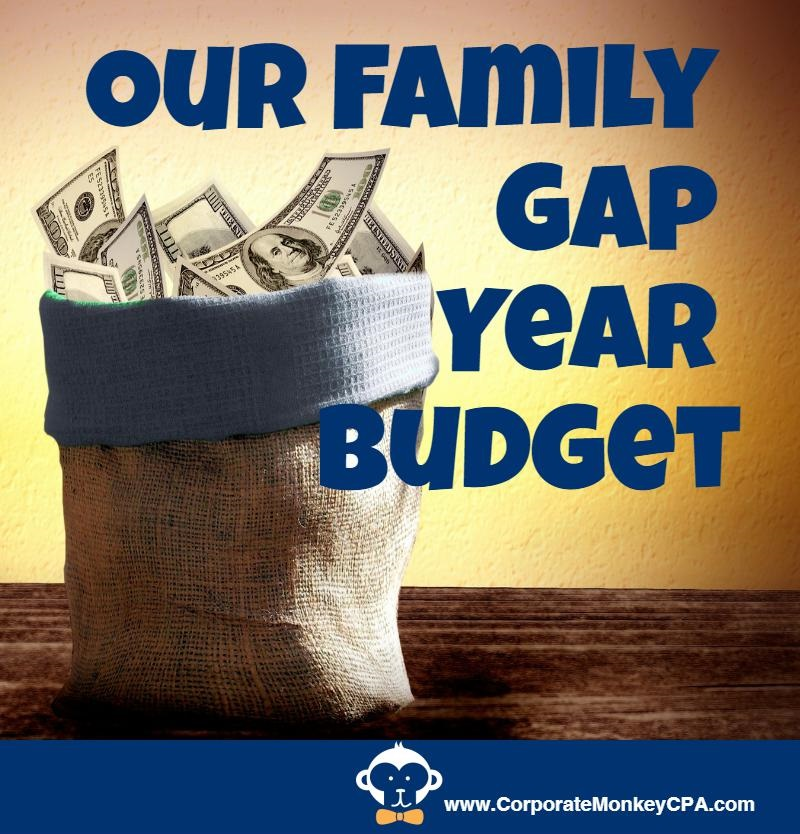 Our Family Gap Year Budget
