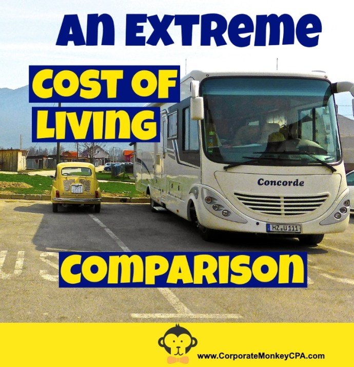 An Extreme Cost of Living Comparison