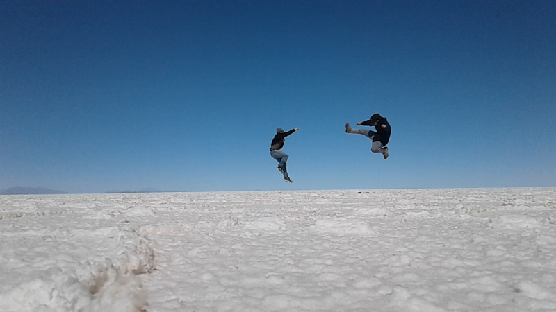 Street Fighting in The Salar de Uyuni