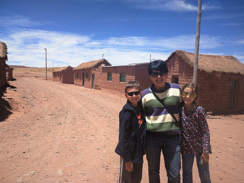 A remote mining town in Southwest Bolivia