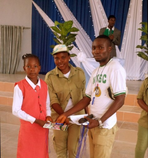 DISTRIBUTION ON WEDNESDAY, 27TH MAY, 2015 DURING THE CHILDREN'S DAY CELEBRATION ORGANIZED BY WORLD PEACE CRUSADERS MOVEMENT, AT GREAT EXPECTATION HOTEL AND RESORT, AKURE ROAD, IKERE-EKITI