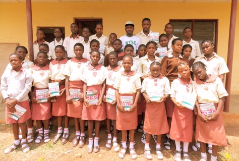 FIRST DISTRIBUTION ON TUESDAY, 12TH MAY, 2015 AT BAPTIST HIGH SCHOOL, ISE ROAD, IKERE EKITI, EKITI STATE