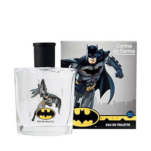 Corine de Farme – Eau de Toilette Fraîcheur Batman – Parfum pour Enfant dès 3 Ans – Formule Clean Beauty – Fabrication 100% Française