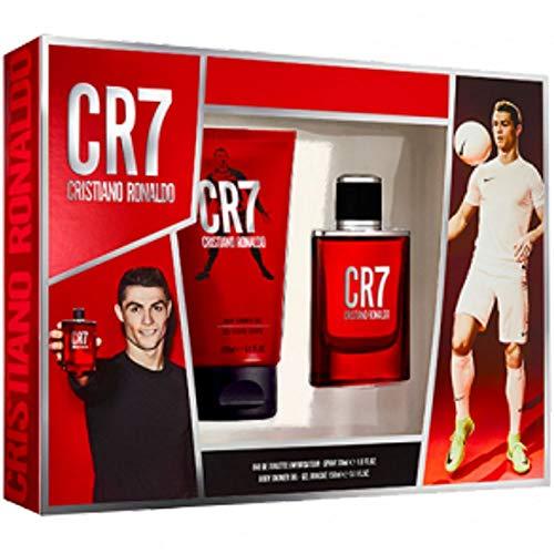 Cristiano Ronaldo CR7Eau de toilette en flacon vaporisateur Coffret cadeau 30ml