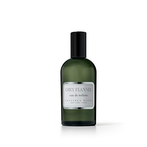 Geoffrey Beene – Grey Flannel – Eau de Toilette Homme Vaporisateur – 120 ml – Senteur Boisée et Orientale