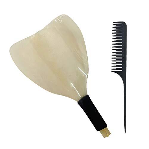SDENSHI Bouclier de Coiffure Réutilisable En Plastique Visage de Protection Des Yeux Bouclier de Laque