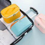 FreshWater Trousse de toilette portable étanche grande capacité pour cosmétiques et rouges à lèvres