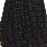 Kamenda Perruques HD de 55,9 cm avec dentelle frontale, transparente, pré-épilées avec cheveux ondulés