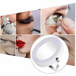 Maquillage Miroir Portable 3X Tabletop Miroir grossissant cosmétique permanent lumineux Miroir salle de bains avec LED lumière blanche