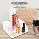 Organisateur cosmétique, boîte de rangement pour cils, acrylique beauté outil présentoir organisateur cosmétique rouge à lèvres titulaire boîte pour maquillage vernis à ongles et produits