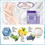 3 Paires Masque De Main Gants Hydratants pour Soin de Main Masque Nourrissant Exfoliants Régénérantes Pour Les Mains Sèches Vieillissantes et Gercées
