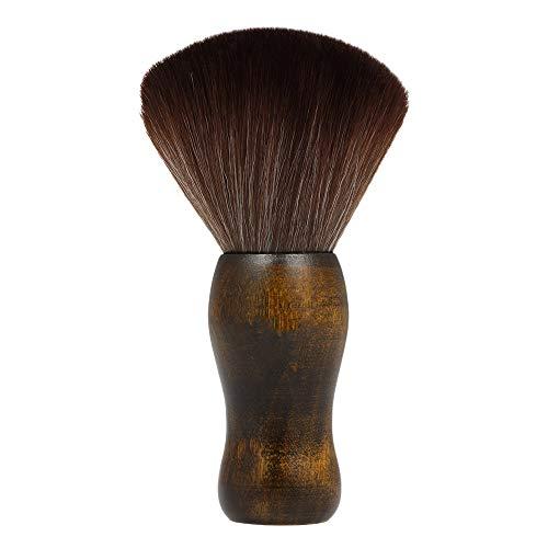 Fauge Professional Cou Doux Visage Duster Brosses Coiffeur Cheveux Propre Brosse à Cheveux Salon Coupe Coiffure Styling Maquillage Outil