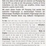 OPI – Vernis à Ongles – Plumping – Top Coat Volumateur – Qualité professionnelle – 15 ml