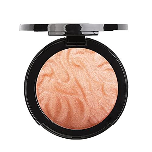 Cyhamse Surligneur Imperméable Longue Durée Palette Surligneur Poudre Maquillage Palette Maquillage Glow Maquillage Visage Con-Tour Glitter pour Améliorer Le Teint Nez Ombre Éclairer