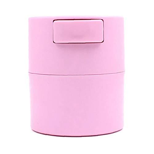 Colle Cils Réservoir de stockage Pot Leakproof Container Intensification Fournitures cil étanche Blanc