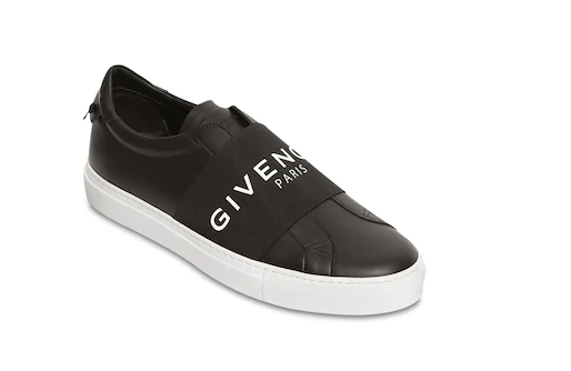 """GIVENCHY SNEAKERS SLIP-ON """"URBAN STREET"""" IN PELLE"""