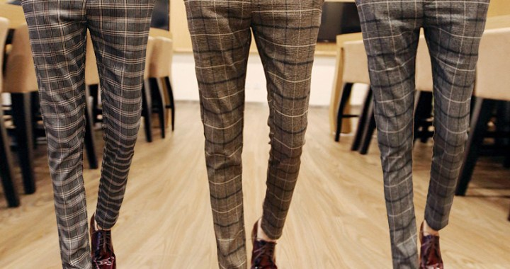 Men's trousers – Trends of 2018