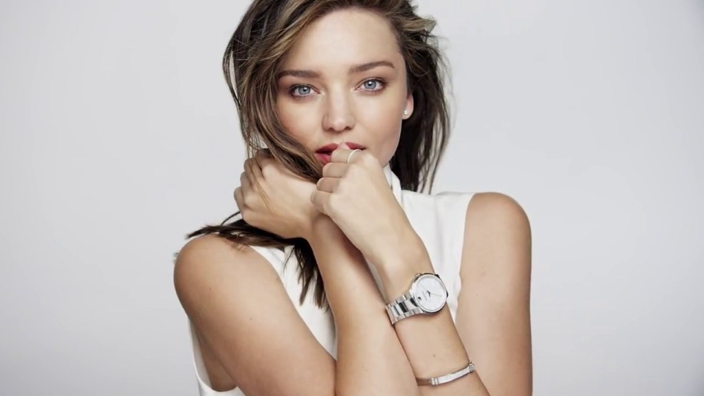 miranda kerr, orologi da donna