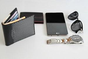 mens wallet, coldfire, cfsmagazine, portafogli per uomo in fibra di carbonio, borsellino per uomo