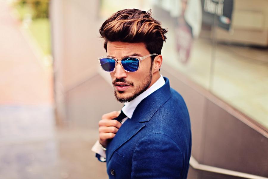 Taglio di capelli alla moda uomo 2019